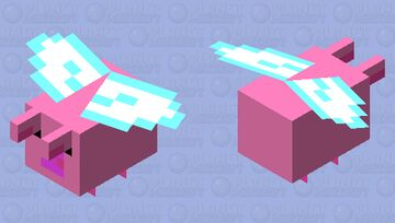 When Pigs Fly Minecraft Mob Skin