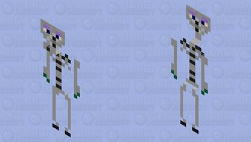 chuck e cheese endo skeleton Minecraft Mob Skin