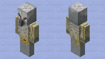 bone warrior Minecraft Mob Skin