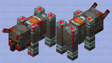 Death Ravager Minecraft Mob Skin