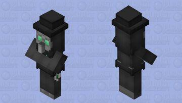 Plague Doctor (witch reskin) Minecraft Mob Skin