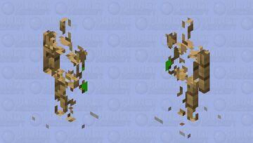 armore tsande a moitier invisible Minecraft Mob Skin