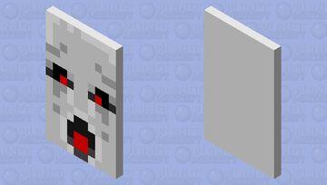 Ghast Cape Minecraft Mob Skin