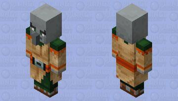 Desert Pillager Minecraft Mob Skin