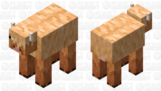 Wooly cow Minecraft Skin
