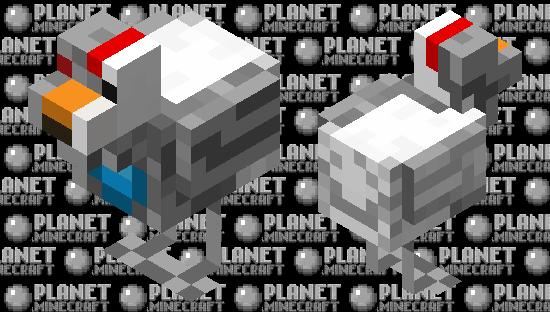 Robot Chicken Minecraft Skin