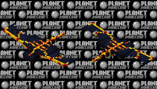 lava phantom Minecraft Skin