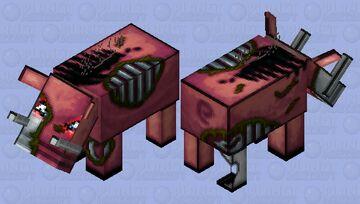 zoglin cute Minecraft Mob Skin
