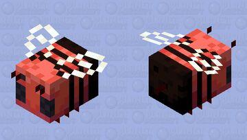 Demonic Bee Minecraft Mob Skin
