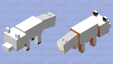 the fox is cold Minecraft Mob Skin