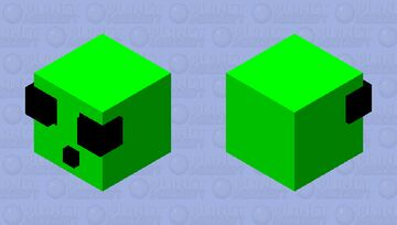 cute slime Minecraft Mob Skin