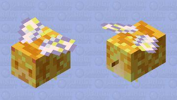 pollen been Minecraft Mob Skin