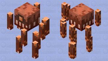 Toothy Blaze Minecraft Mob Skin