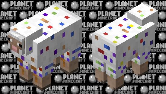 Party/Confetti Sheep Minecraft Skin