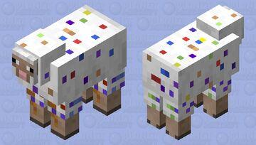 Party/Confetti Sheep Minecraft Mob Skin