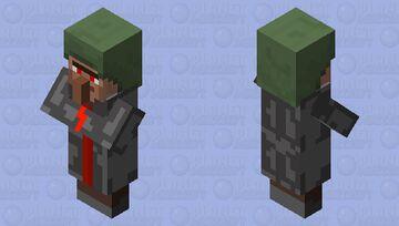 Admin villager Minecraft Mob Skin