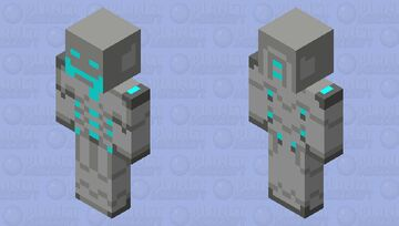 Ultron Sentry Zombie Minecraft Mob Skin