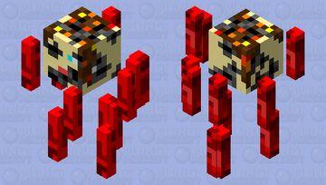 Burned And Beheaded Alex Minecraft Mob Skin