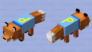 Happy fox Minecraft Mob Skin