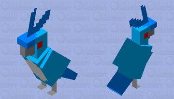 Kantonian Articuno Minecraft Mob Skin