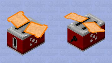 toasty bee Minecraft Mob Skin