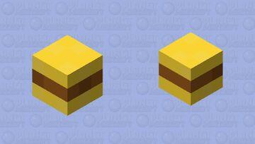 Beef Burger Minecraft Mob Skin