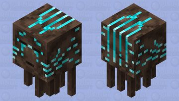 Soul Sand Valley Ghast Minecraft Mob Skin