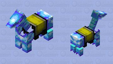 Diamond Horse Armor Minecraft Mob Skin