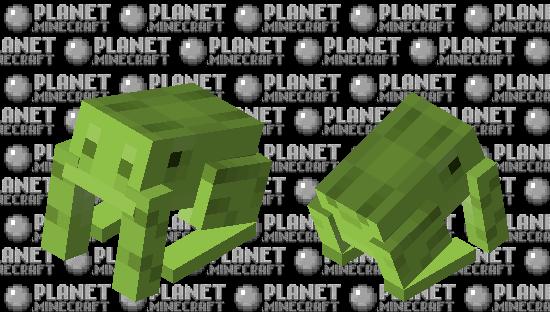 green frog Minecraft Skin