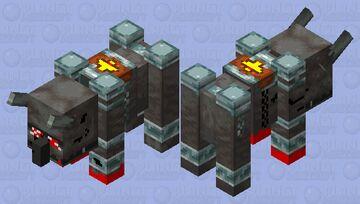 crazed ravager Minecraft Mob Skin