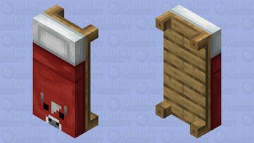 Mooshroom bed Minecraft Mob Skin