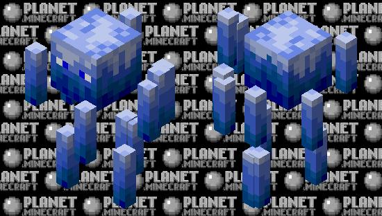 Neo Blue Fire blaze Minecraft Skin