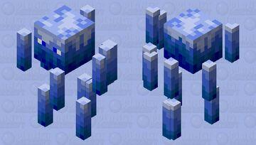 Neo Blue Fire blaze Minecraft Mob Skin