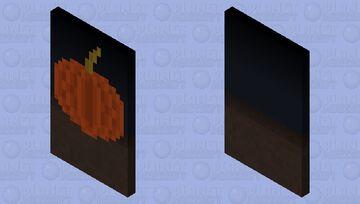 𝐏𝐮𝐦𝐩𝐤𝐢𝐧 𝐂𝐚𝐩𝐞 (halloween :D) Minecraft Mob Skin