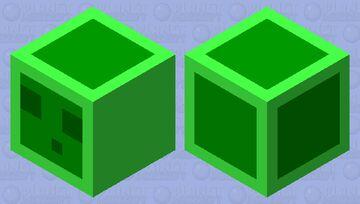 Slime Minecraft Mob Skin