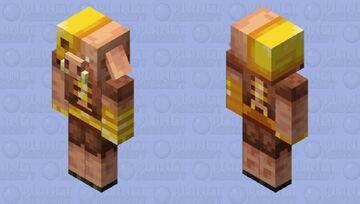 Golden Piglin Minecraft Mob Skin