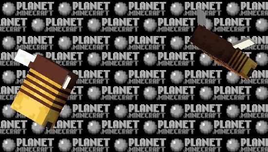 Wide Bee Minecraft Skin