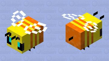 Traffic Bee Minecraft Mob Skin