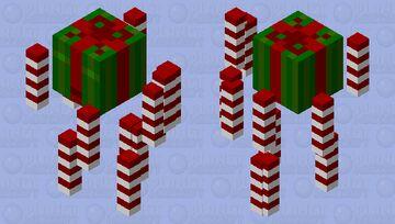 Christmas Blaze Minecraft Mob Skin