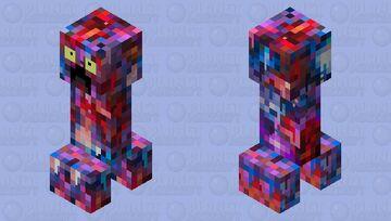 Re-colored creeper Minecraft Mob Skin