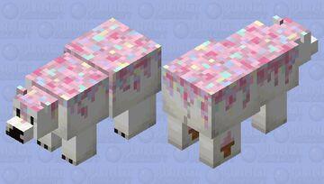Icing Polar Bear Minecraft Mob Skin
