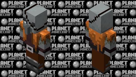 Original Pillager Design Minecraft Skin
