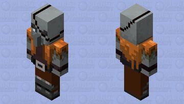 Original Pillager Design Minecraft Mob Skin