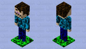 Fake Player Minecraft Mob Skin