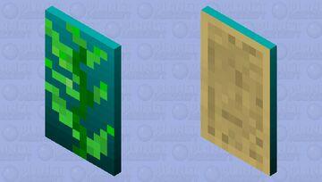 Kelp Kape Minecraft Mob Skin