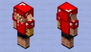 Lord Skyler's piglin brute guard Minecraft Mob Skin