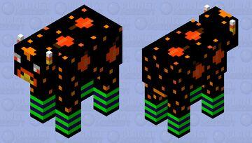 Halloween Cow Minecraft Mob Skin