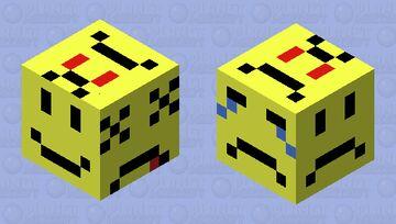 Emoji large puffer fish Minecraft Mob Skin