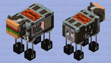 food / delivery truck Minecraft Mob Skin