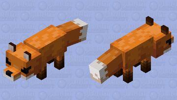 Fox, but ANIME! Minecraft Mob Skin